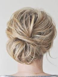 side buns for shoulder length fine hair loose simple updos for medium hair by jaclyn hair pinterest