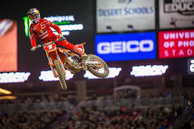ama results motocross 2017 phoenix supercross results tomac dominates in arizona video