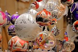 blown painted ornaments photograph by