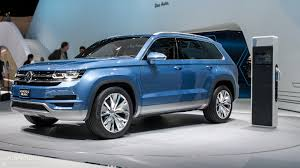 volkswagen jeep 2013 first official photos of the volkswagen teramont suv for china