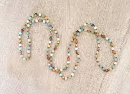 natural beads necklace images Fashion jewelry long india stone statement beads necklace for jpg