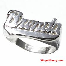 sterling silver name rings personalized name ring custom name solid 925 sterling silver
