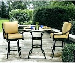 Patio Furniture Bistro Set High Top Patio Furniture Set Medium Size Of High Top Outdoor Patio