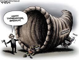 political pistachio thanksgiving obama s horn of plenty
