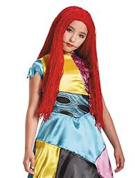 sally nightmare before child wig toys