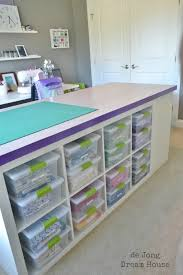 de jong dream house how to build a diy craft table sewing room