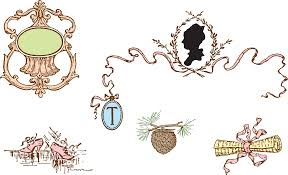 Decorative Frame Png Free Clipart Vintage Victorian Love Letter Decorative Frame