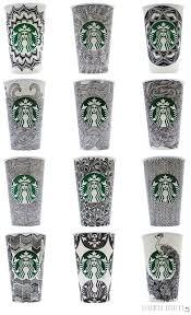 Cup Design Top 25 Best Starbucks Cup Art Ideas On Pinterest Starbucks Art