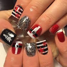 imagenes uñas para decorar 60 uñas de navidad para decorar tus uñas durante navidad temporada