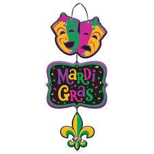 mardi gras specialty amscan mardi gras specialty sign reviews wayfair
