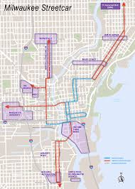 San Francisco Streetcar Map Milwaukee Wisconsin Boothe Transit