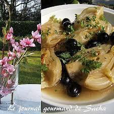 cuisiner le fenouil braisé recette de fenouil braisé aux olives noires