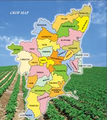 tamil nadu map horticulture crop map