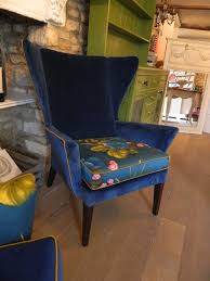 Velvet Wingback Chair Best 25 Wingback Chairs Ideas On Pinterest Chairs For Living