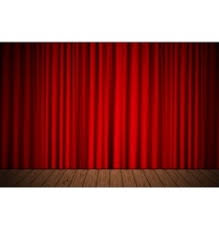 Stage With Curtains Red Velvet Curtains Royalty Free Vector Image Vectorstock