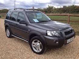land rover freelander 2006 used land rover freelander 2 0 td4 hse 5dr auto hse model black