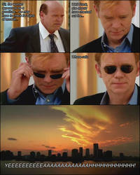 Horatio Caine Meme - csi 4 pane comics know your meme