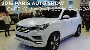 lexus ux canada 2016 paris auto show cars you won u0027t find in canada youtube