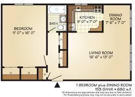1 Bedroom Floor Plans by Apartments For Rent In Roselle Park Nj I Sunrise Village