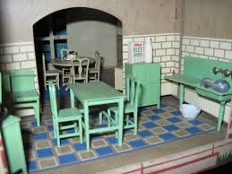 Dolls House Kitchen Furniture 1925 Tootsie Toy House By Tracy H Dolls U0027 Houses Past U0026 Present