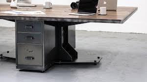 home design oak office study computer desk with sliding keyboard