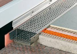 Drainage Patio Patio Drainage Channel Stainless Steel With Grating Schlüter