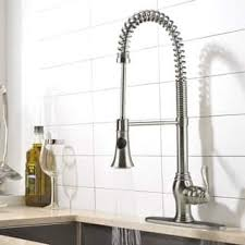 kitchen faucet images kitchen faucets for less overstock com