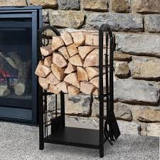 fireplace wood rack beautiful decoration fireplace log rack lowes