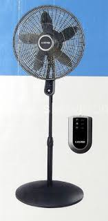 pedestal fan with remote 4 speed oscillating adjustable 18 fan with remote control