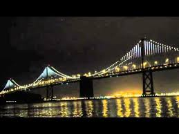 Bay Bridge Lights San Francisco Bay Bridge Lights Show 2 Youtube