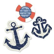 Nautical Baby Shower Decorations - nautical baby shower decorations amazon com