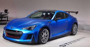 subaru brz custom paint subaru finally gives brz the muscle it deserves blue paint