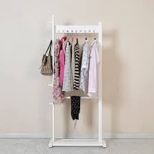 standing clothes rack once you have your clothing rack set up
