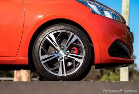 peugeot 208 gti 2016 peugeot 208 gti review video performancedrive