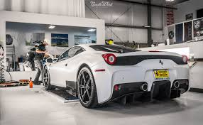 ferrari custom paint ferrari 458 speciale wrapped in xpel stealth paint protection