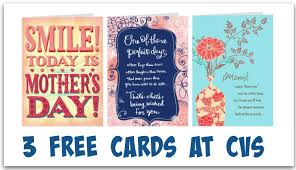 cvs 3 free hallmark greeting cards for s day