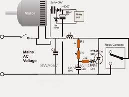 single phase submersible pump starter circuit diagram single