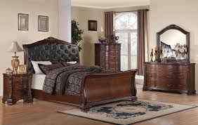 Sleigh Bedroom Furniture 4 Pc Maddison Sleigh Bedroom Set By Coaster Furniture Usa