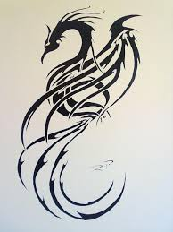 tribal phoenix by ripasquale on deviantart