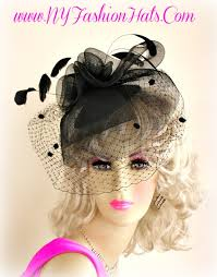 funeral hat black designer hairband cocktail veil hat funeral hats ek