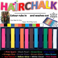 hair online india buy 12color hair chalk sticks pack temporarily color ur hair for