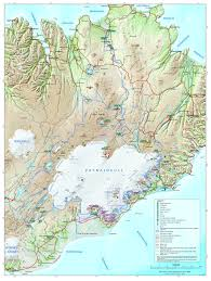 Glacier Park Map National Parks In Iceland Rent Is