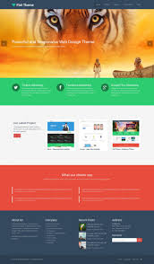 bootstrap sites templates 50 free bootstrap based wordpress themes 2017