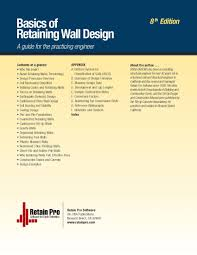 Retaining Wall Designs Pueblosinfronterasus - Retaining wall engineering design