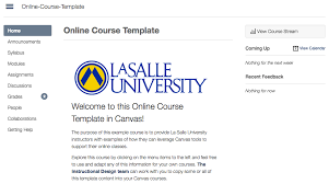 course and syllabus templates faculty guide to canvas