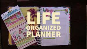 Houseplanner Life Organized Planner Embrace Today Planner By Paper House Youtube