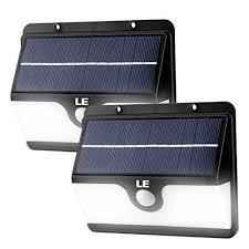 led solar security light le 30 led solar motion sensor light waterproof security lights wall