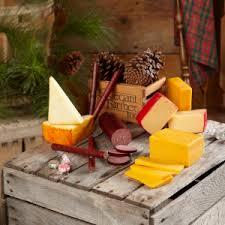 sausage gift basket gourmet cheese and sausage gift basket wisconsin giftsthe