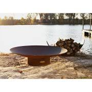 48 Inch Fire Pit by Wood Burning Fire Pits