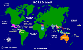 bahamas on a world map world map dive the world s destinations